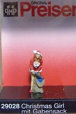 HO Preiser 29028 * CHRISTMAS * Santa's Helper with Sack of Gifts FIGURE