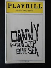 DECEMBER 2004 - SECOND STAGE THEATRE PLAYBILL - DANNY AND THE DEEP BLUE SEA
