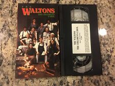 THE WALTONS: THE CHILDREN'S CAROL LIKE NEW VHS 1977 CHRISTMAS HOLIDAY FAMILY FUN