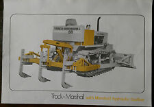 Track-Marshall with Marshall Hydraulic Toolbar Diesel Crawler Tractor Brochure.