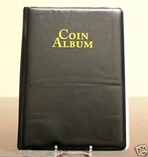 WHITMAN 60 Pocket Coin Stock Book Album for 2x2 Holders Storage