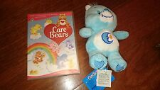 CAREBEARS Soft Plush Teddy Toy RETRO BEDTIME BEAR plush with secret compartment