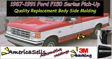 1987-1991 FORD F SERIES F150 F250 F350 BRONCO FACTORY BODY SIDE MOLDING
