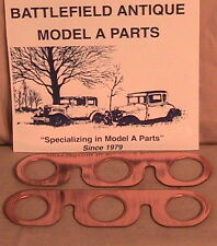 1928 1929 1930 1931 Model A  Ford Copper Manifold Gaskets.