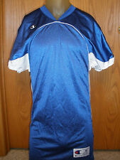 * Mens M Med Champion Royal Blue Athletic Apparel Football Practice Jersey Shirt