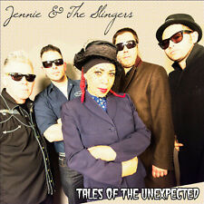 JENNIE & the SLINGERS Tales Of The Unexpected CD - Jennie Matthias Boz Boorer