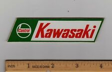KAWASAKI CASTROL OIL STICKER Decal H1 H2 F8 KZ900 F6 F7 A1 F4 F8 F11 Motorcycle