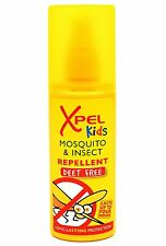 XPEL KIDS Mosquito & Insect Repellent  Deet Free 70ml Spray long lasting