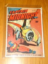 CAPTAIN MIDNIGHT #57 VG+ (4.5) 1947 NOVEMBER FAWCETT*