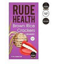 Rude Health Brown Rice Thins/Crackers 130g Pack of 5