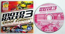 2008'S PC CD-ROM SOFTWARE, MOTO RACER 3 GOLD EDITION