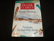 NEW DVD Simply Painting THE BURREN & QUIET MAN BRIDGE Frank Clarke LEARN 2 PAINT