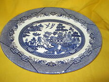 Churchill Blue Willow (England) ROUND CHOP PLATE *have more items to this set*
