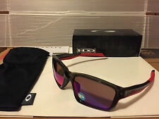 NEW Oakley Polarized ChainLink Grey Smoke / OO Red Iridium Polarized, OO9247-10