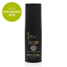 New Inika Certified Organic Liquid Mineral Foundation Honey with Hyaluronic Acid