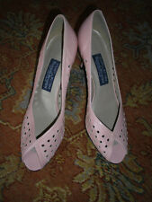 STUART WEITZMAN, RUSSELL & BROMLEY, PINK LEATHER SHOES, BRAND NEW, US 9.5/UK 7.5