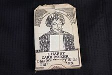 Vintage Hardy Card Maker to his Majesty & the Prince of Whales Playing Cards New