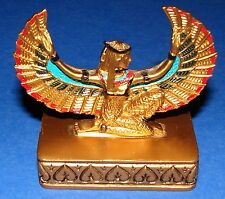 "Winged Isis Figurine * Replica from Tomb of Tutankhamun 3"" Tall NEW!"