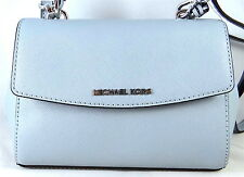 MICHAEL MICHAEL KORS AVA XS DUSTY BLUE LEATHER TOP HANDLE SATCHEL BAG