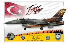 F-16 Tiger Meet - Turkish Air Force - Poster Profile