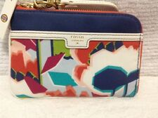 NWT Fossil Ivy Wristlet Multi  Floral  SWL 1324919