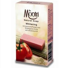 DR.MONTRI NATURAL HERBAL SOAP WHITENING WHIT TOMATO, TANAKA Licorice Extract 80g