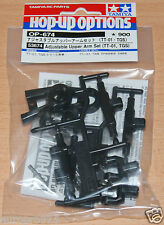 Tamiya 53674 Adjustable Upper Arm Set (TT01, TGS)(TT-01/TT01D/TT01E/TT01ES) NIP