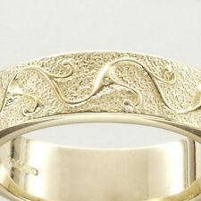 Ola Gorie 9ct Yellow Gold 375 Stroma Wedding Ring Celtic