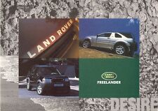 Land Rover Freelander 1997 UK Market Launch Foldout Sales Brochure i di XEi XEdi