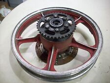 1983 KAWASAKI GPZ 550 ZX550  REAR WHEEL   OEM
