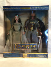 Collectible The Lord Of The Rings:Return Of The King Barbie and Ken Dolls NIB