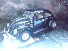 Kinsmart® Volkswagen VW Käfer  Beetle schwarz + Pullbackmotor Neuware w.Bild