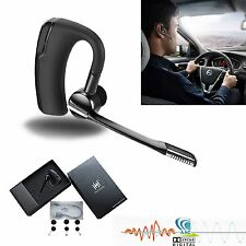 Bluetooth Headset Blue Parrot Noise Cancelling 4.0 Wireless Mic HD Stereo Sound