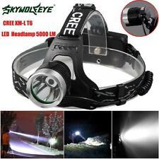 8000LM 2X XM-L T6 LED Rechargeable 18650 USB Headlamp Headlight Head Light Torch