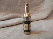 Vintage Kemco Bottle Shaped Cigarette Lighter Playing Cards Aces