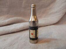 Vintage Kemco Bottle Shaped Cigarette Lighter Playing Cards Aces
