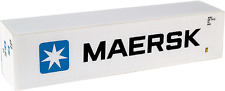 Maersk 40 ft Reefer Container HO 1:87 container Walthers  949-8353