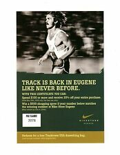 STEVE PREFONTAINE 2006 Prefontaine Classic NIKE STORE EUGENE **Coupon-Card**