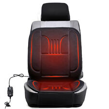 LEFT 12V Heated Car Van Front Seat Cover Car Seat Padded Winter Thermal Cushion