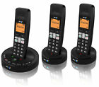 BT 3510 TRIO DIGITAL CORDLESS HOME PHONE WITH ANSWER MACHINE & HANDS-FREE