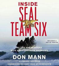 Don Mann - Inside Seal Team Six Unabr (2012) - Used - Compact Disc