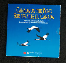 1995 Two Coin Set - Canada on the Wing - Grey Jay/White-Tailed Ptarmigan