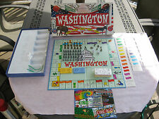 Washington In-A-Box~Property Trading Game By Late for the Sky~Complete!