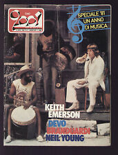 CIAO 2001 3/1982 KEITH EMERSON BRANDUARDI DEVO KNOPFLER NEON NEIL YOUNG BEATLES