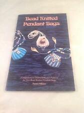 Bead Knitted Pendant Bags, Pattern Book by Theresa Williams, pattern book, EUC