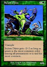 Sulam Djinn NM X4 Invasion MTG Magic Cards Green Uncommon