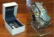 Lucky Brand (VX00A) Stainless Steel Made with Peace & Love Wrist Watch *READ*