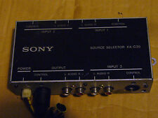 SONY XA-C30 SOURCE SELECTOR- RUN UPTO 3 CD & MD CHANGERS ON 1 STEREO HEAD UNIT