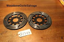 1982 Yamaha Maxim XJ750 XJ 750  front brake rotors discs left right  # 21343