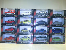 MODELS SET, 16 PCS,  1:72 CARARAMA. NEW IN BOX.